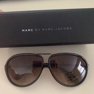 Marc by Marc Jacobs brown aviators mmj220/s